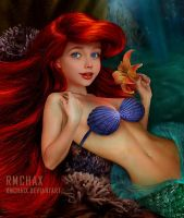 Ariel the Little Mermaid by rmchaix