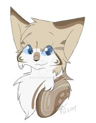 Tawnyfuzz Headshot .:Commission:. by JK-Draws