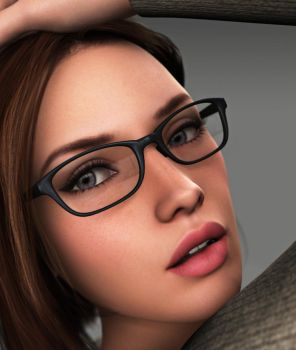 Amanda Jones - Up Close and Spectacled by Torqual3D