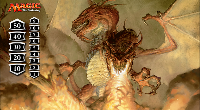Two Headed Dragon Playmat by mortykus