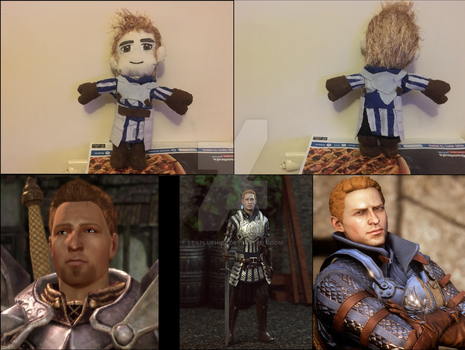 Alistair Plushie doll Completed