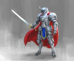 Hero Knight by nibelwolf