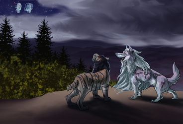Prehistoria ToA Look to the Stars by Shadow-Hyder