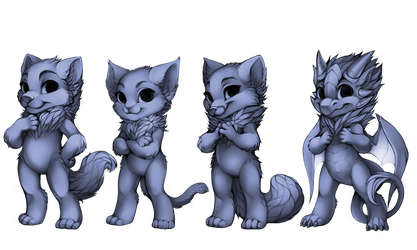 Furvilla Bases by OfficialFurvilla