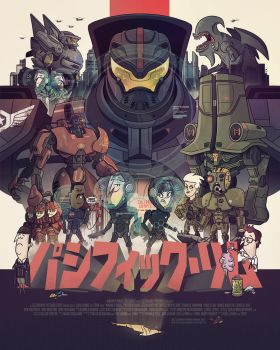 Pacific Rim - Print (Standard) by TheBeastIsBack