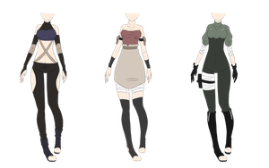Naruto Outfit Adoptables 7  [CLOSED] by xNoakix3