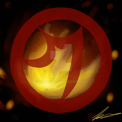 Ennemy's Logo - Magmar's sign by KimHaeYeon