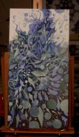 Currently on my easel by magickalmoon