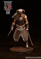 DragonSlayer resin figure by Michael-XIII