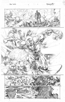 Silver Surfer issue1 by sjsegovia