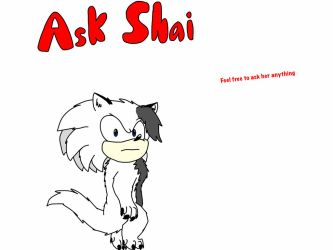 Ask Shai The Wolf by BryanTheWolf