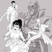 Victorian Justice League by Lemwell