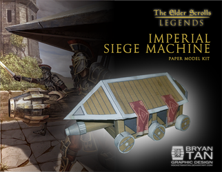 Elder Scrolls - Imperial Siege Engine Papercraft by RocketmanTan