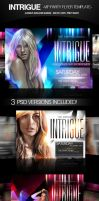 Intrigue Party Flyers PSD by ImperialFlyers