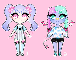 Pastel Goth Adopts {CLOSED} by Anna--Loli