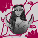 A Rose's Fear is Morticia by Knyteshadre