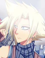Cloud Strife by QUIXILVRR