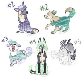 [WATERDOGS] May 2019 Breeding Auction! CLOSED by DannyHorseRules