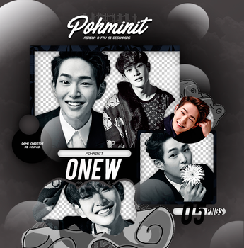 +Pack Png SHINee|Onew by Pohminit