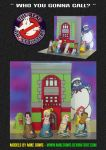 The Real Ghostbusters-Models 2 by mikedaws