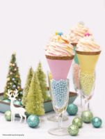 Pastel Christmas. Peppermint Mousse by theresahelmer