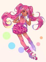 [+Video] Commission - A Dash of Pink by Hyanna-Natsu