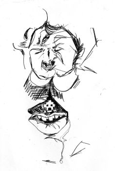 Blind Contour by LittleBoots-Invictus