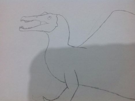 More Spinosaurus by HaxEX2
