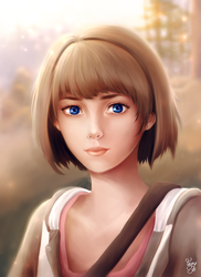 Time Traveler Max Caulfield by Wyncrosstanza