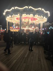Merry-go-round at Pier 39. by sfgiants58
