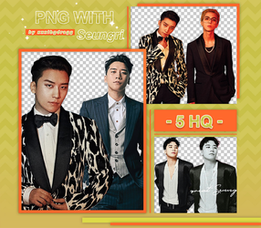 PNG PACK #15 -SEUNGRI by xxxibgdragg
