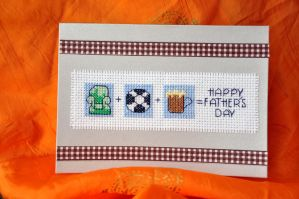 Father's Day by VickitoriaEmbroidery