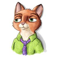 Cats of June - 27/30 - Nick by JoenSo