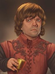 Game of thrones fan art - Tyrion Lannister by ynorka
