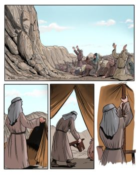 comic page i made for commission for the same proj by pyraker