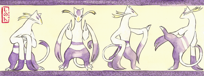 Mienshao Scroll by ShadeofShinon