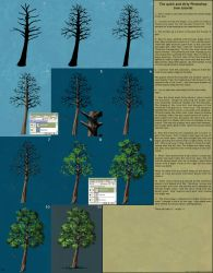 Quick and dirty tree tutorial by herr-o