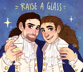 Raise a glass by Mokodoko