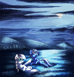 [Commission] Stargazing by Hagallaz