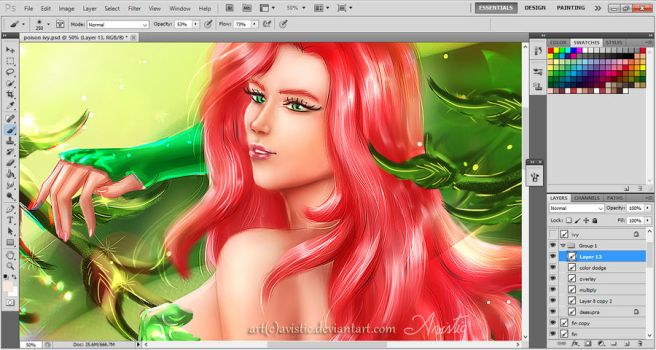 Poison Ivy (preview) by Avistic