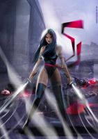 Psylocke New by uwedewitt