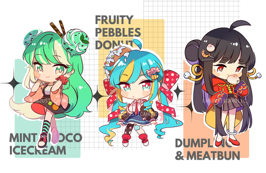 FOOD BABES ADOPT AUCTION | CLOSED by LabJusticaholic