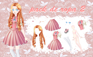 Victorian Doll Pack by ladysara2017