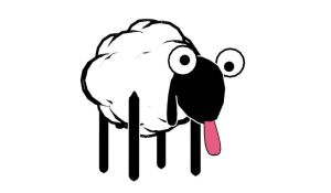 Retarded sheep (MMD model download) by YamiSweet