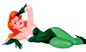 Poison Ivy by Bruce Timm by Mythical-Mommy