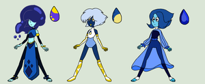 (CLOSED) Lapis Adoptables (0/3) by SkectchyPencil