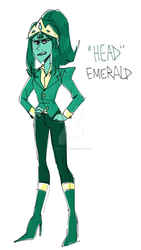 (CLOSED) Emerald gem adopt! by IcebergCabbage