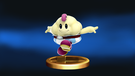 SSB4 - Mallow Trophy by mbluebird2