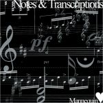 Notes Brushes by MannequinStock