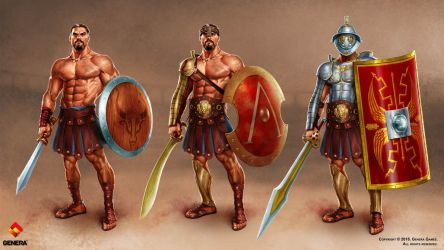 Gladiator Heroes: Clan War Games by IsraLlona